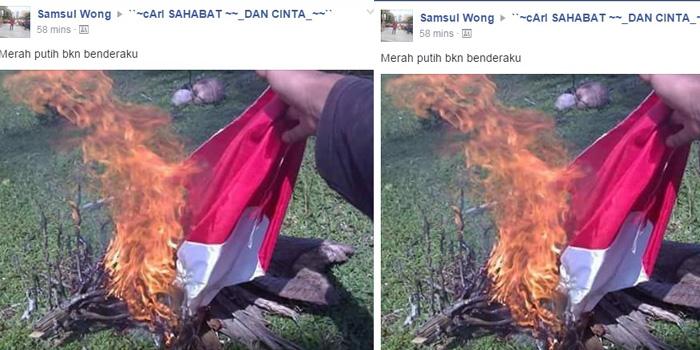 Nurul Fahmi di Tahan Polisi Karena Tulisan Syahadat di Merah Putih?