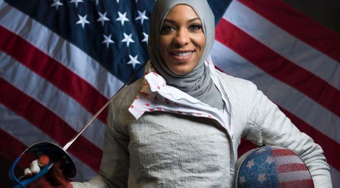 """Mudah-mudahan aku bisa membuat perubahan dan kaum minoritas bisa melihatnya dan tahu bahwa segalanya mungkin,"""" kata Ibtihaj Muhammad"""